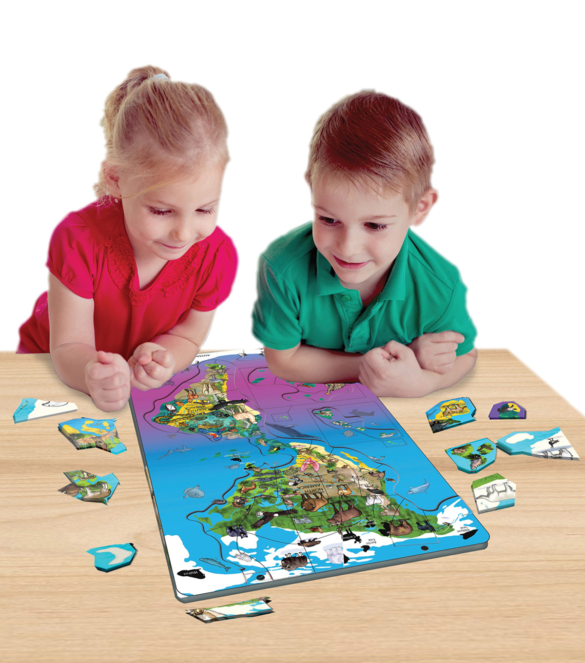 Dowling Magnets Wildlife Puzzle: North & South America