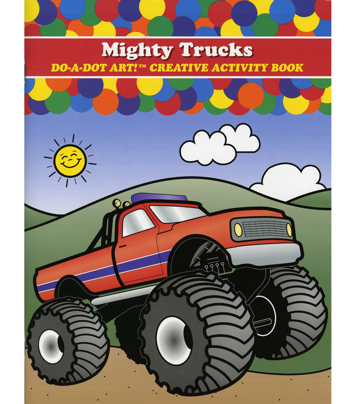 Do-A-Dot Activity Book-Mighty Trucks