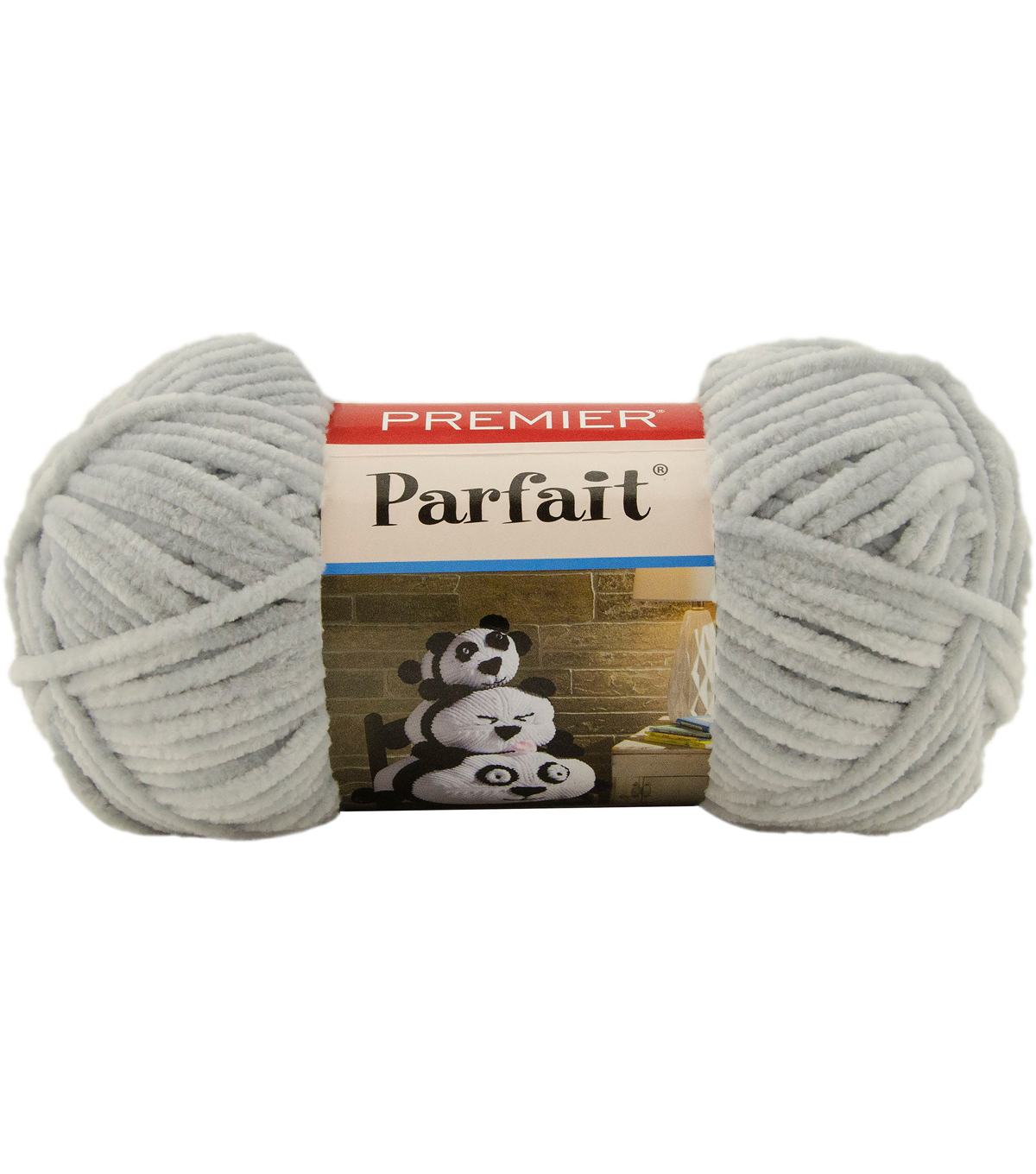 Premier Yarns Parfait Solid Yarn, Pale Gray