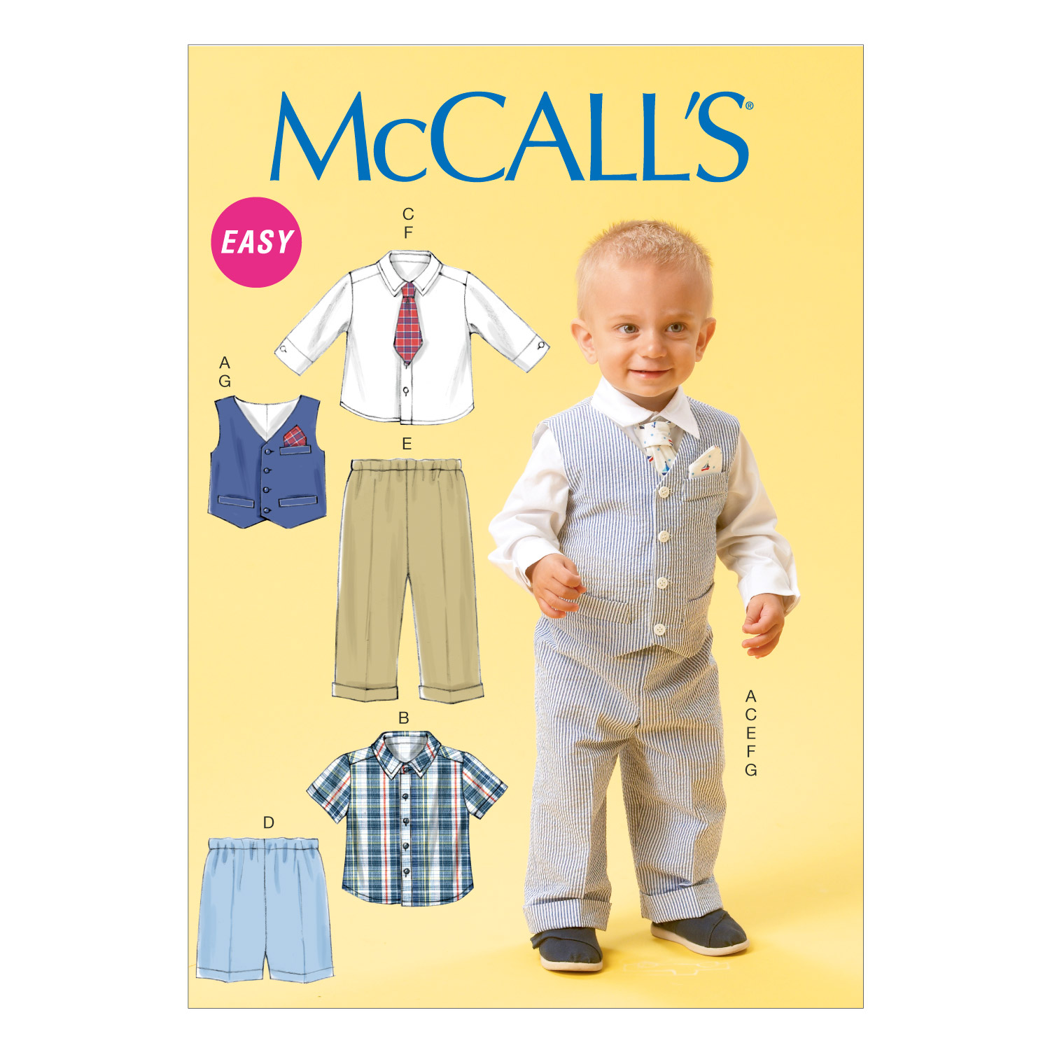 McCall\u0027s Infants Casual-M6873