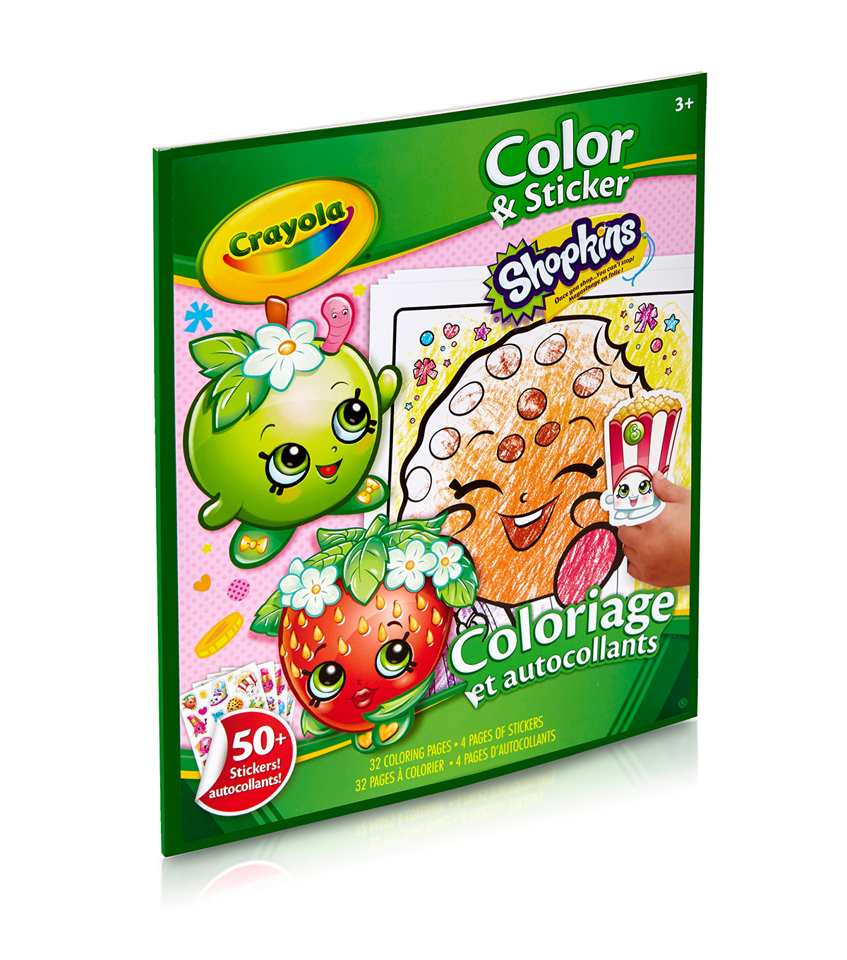 Crayola Color Sticker Book-Shopkins