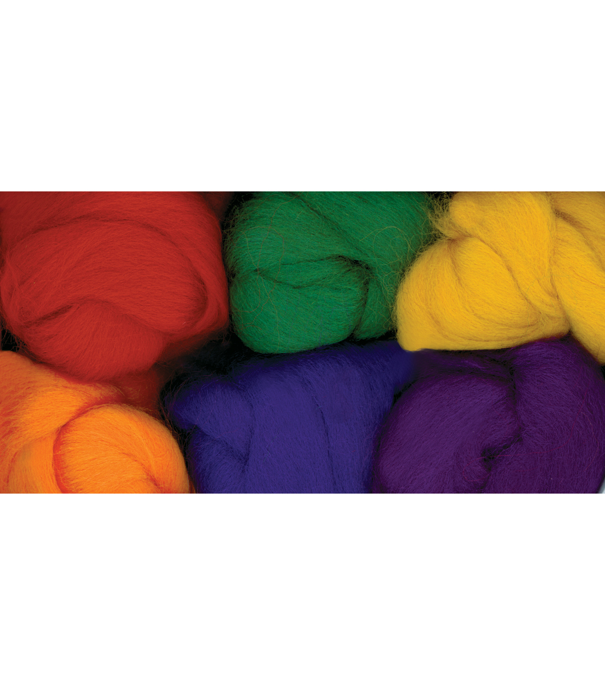 Colonial 6 pk Paint Box Wools-Bright & Bold