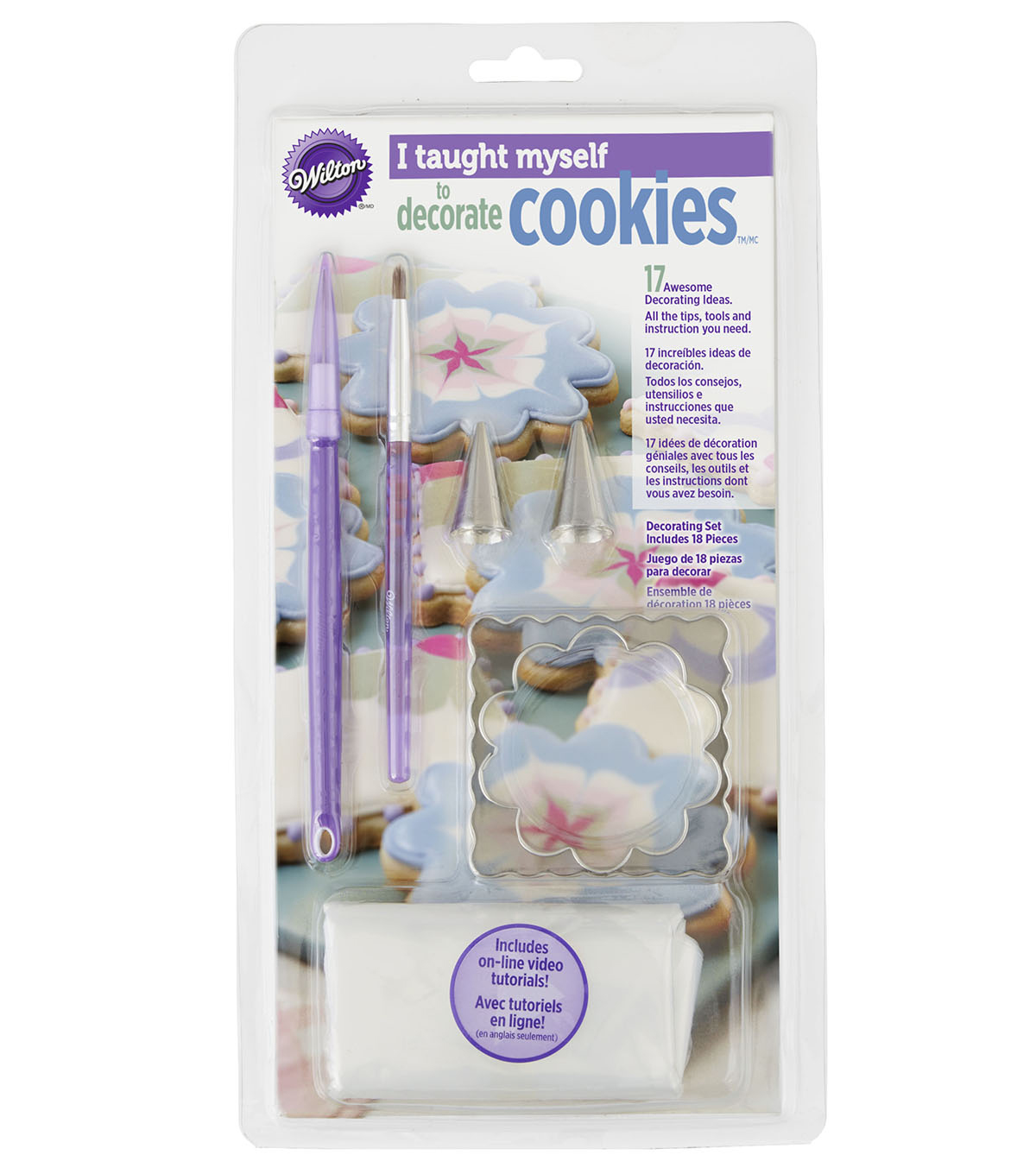 Wilton I Taught Myself Cookie Decorating Book Set