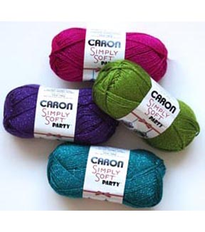 Caron Simply Soft Party Holiday Yarn 3 Pack Joann