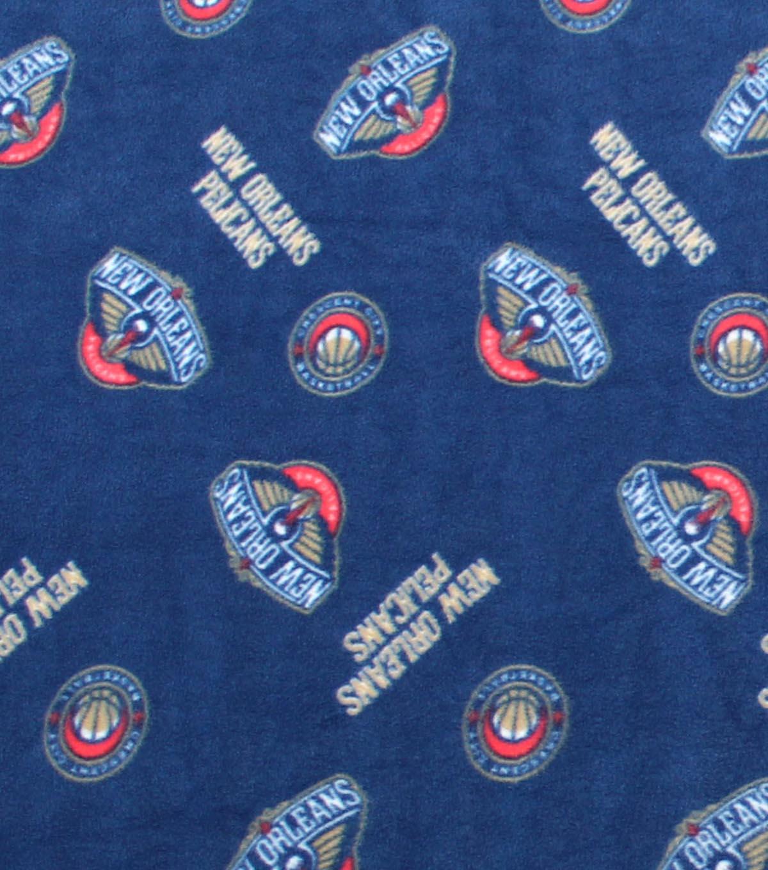 New Orleans Pelicans Fleece Fabric Logo Toss