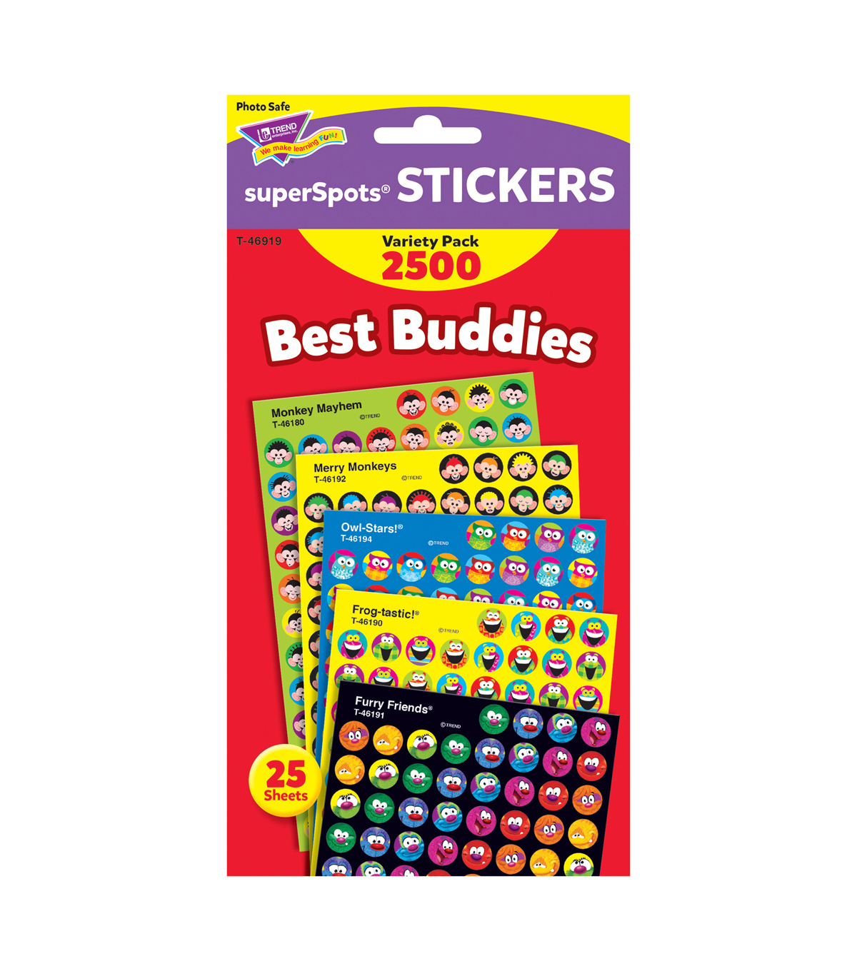 Best Buddies Collection superSpots Stickers Variety Pack 3pk