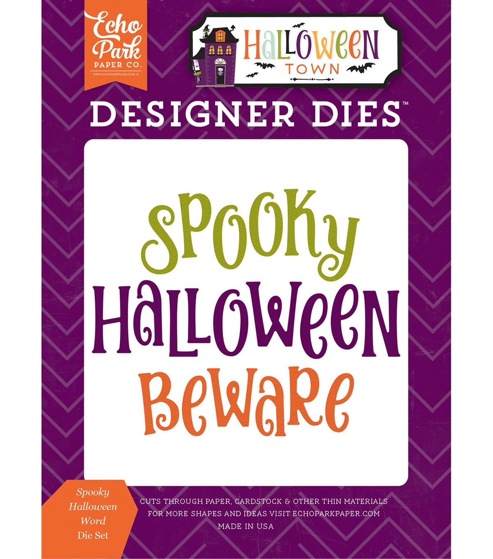 echo park dies spooky halloween words
