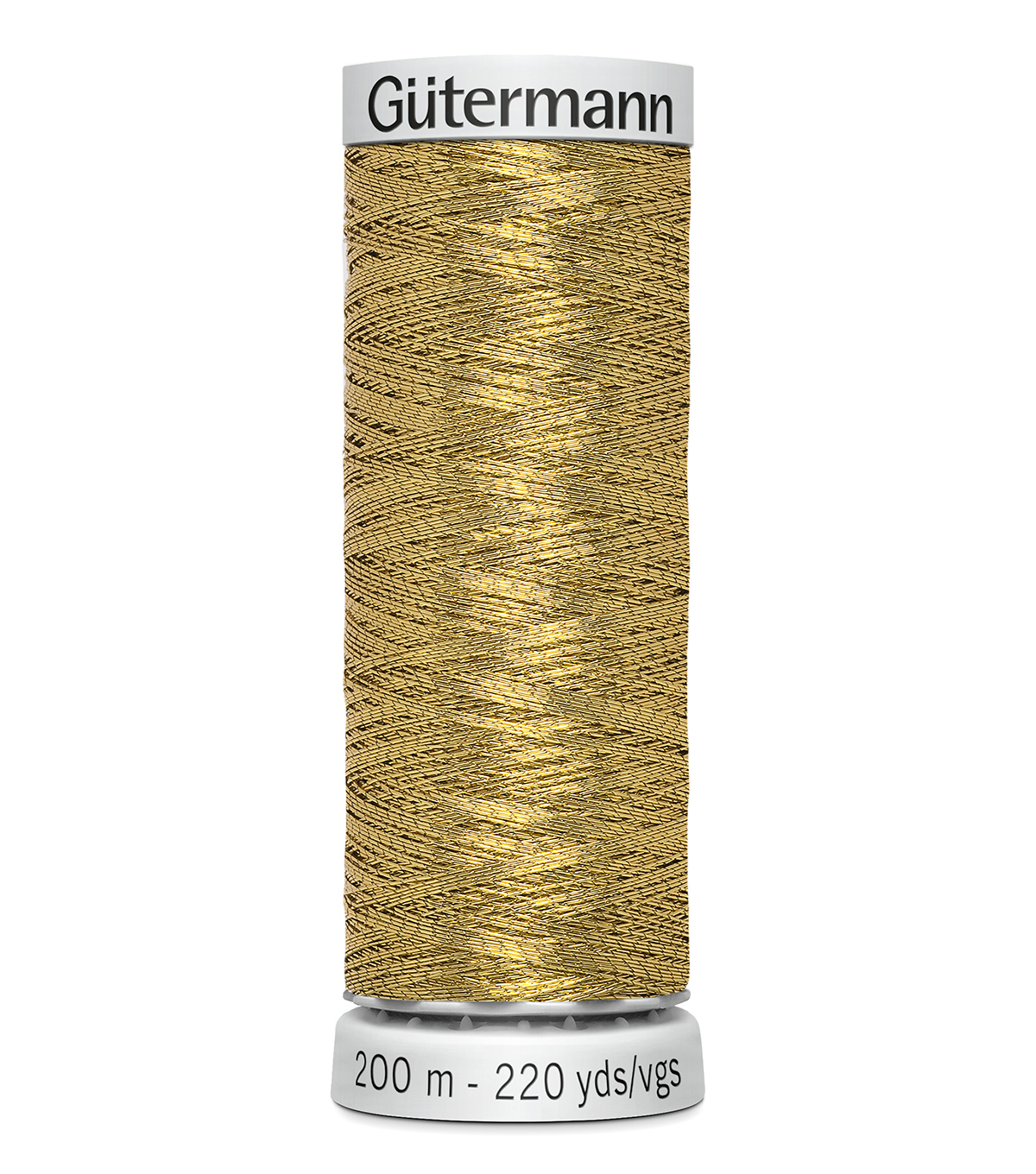 Gutermann 200M Dekor Thread, 200m Dekor Metallic-antique Go