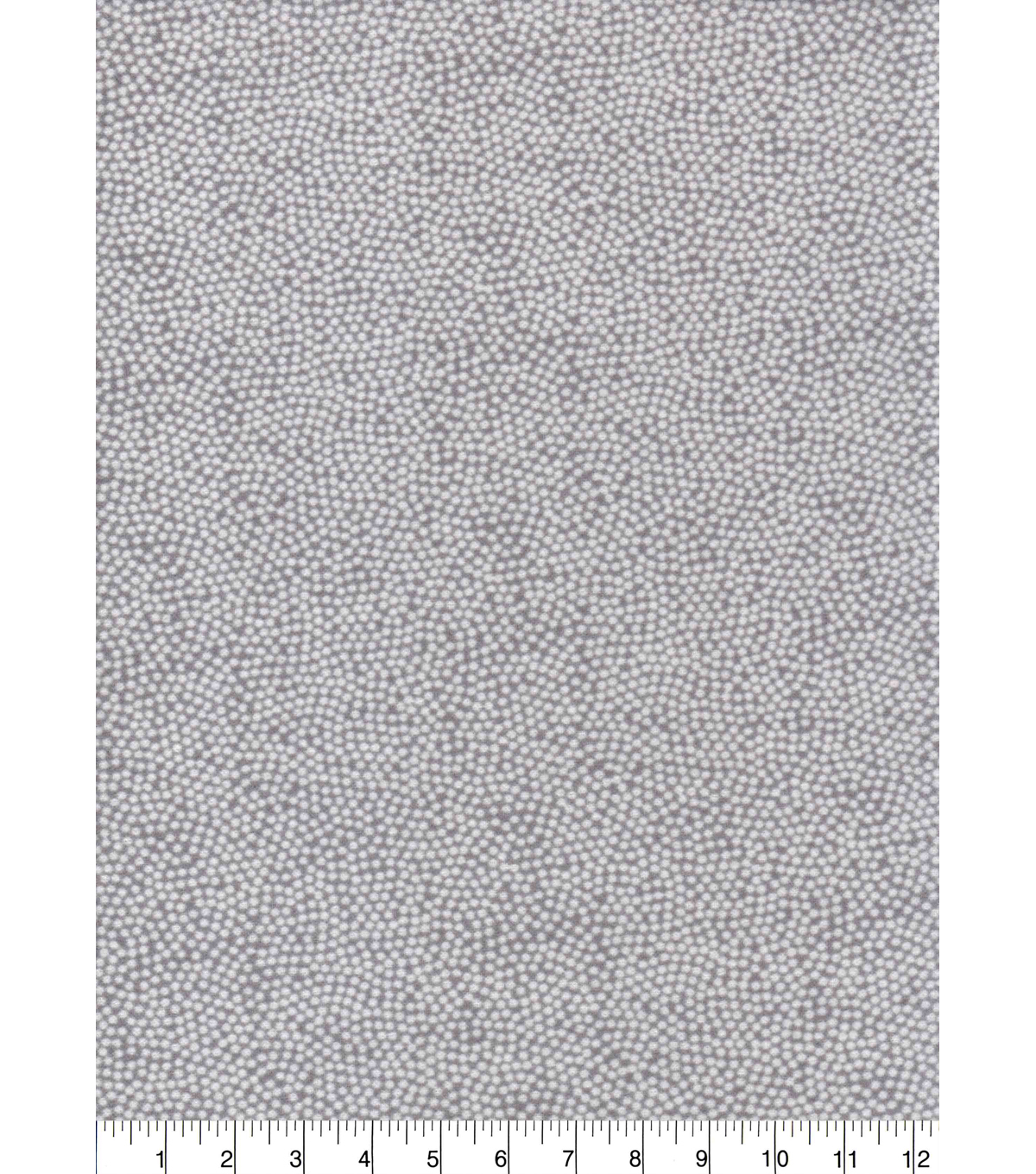 Quilter\u0027s Flannel Fabric-Gray Spin Dots