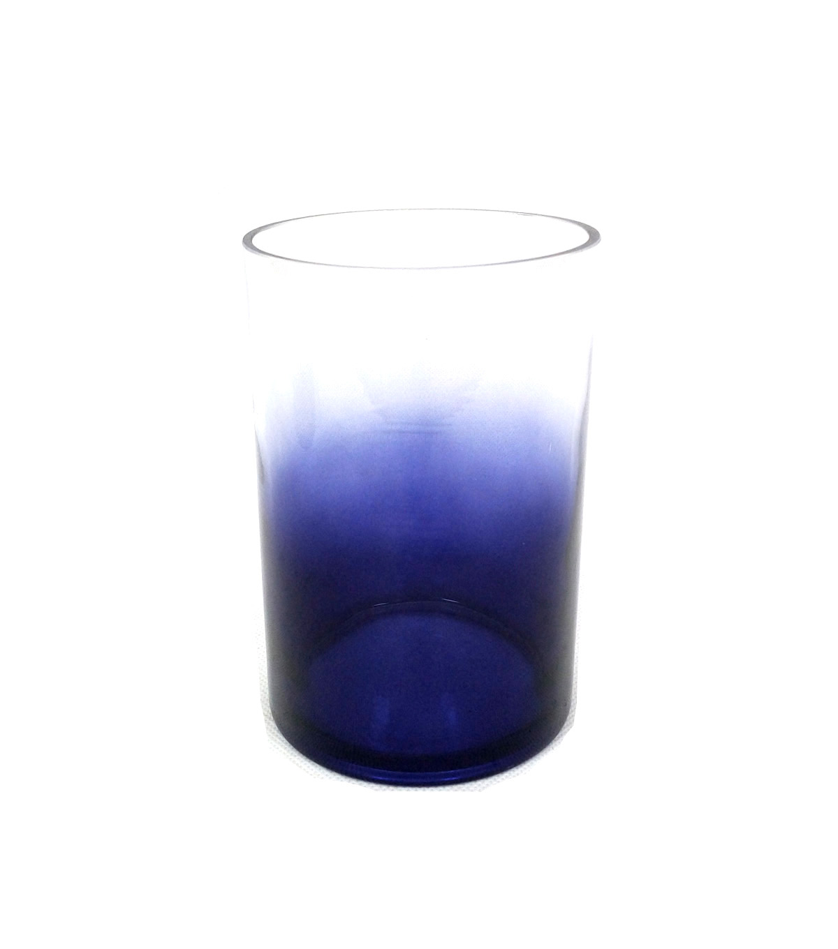 Indigo Mist Small Glass Container-Ombre