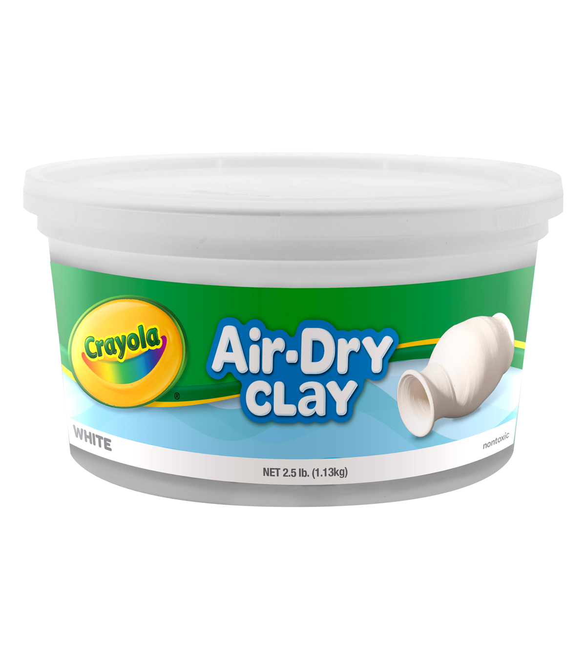 Crayola Air Dry Clay-White
