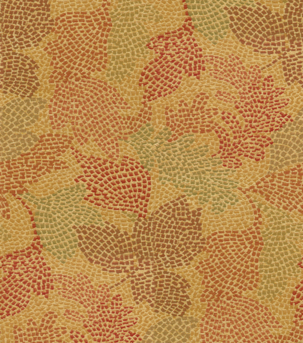 Waverly Upholstery Fabric 54\u0022-Mosaic Leaves Tuscan  sc 1 st  Joann & Waverly Upholstery Fabric Mosaic Leaves Tuscan | JOANN