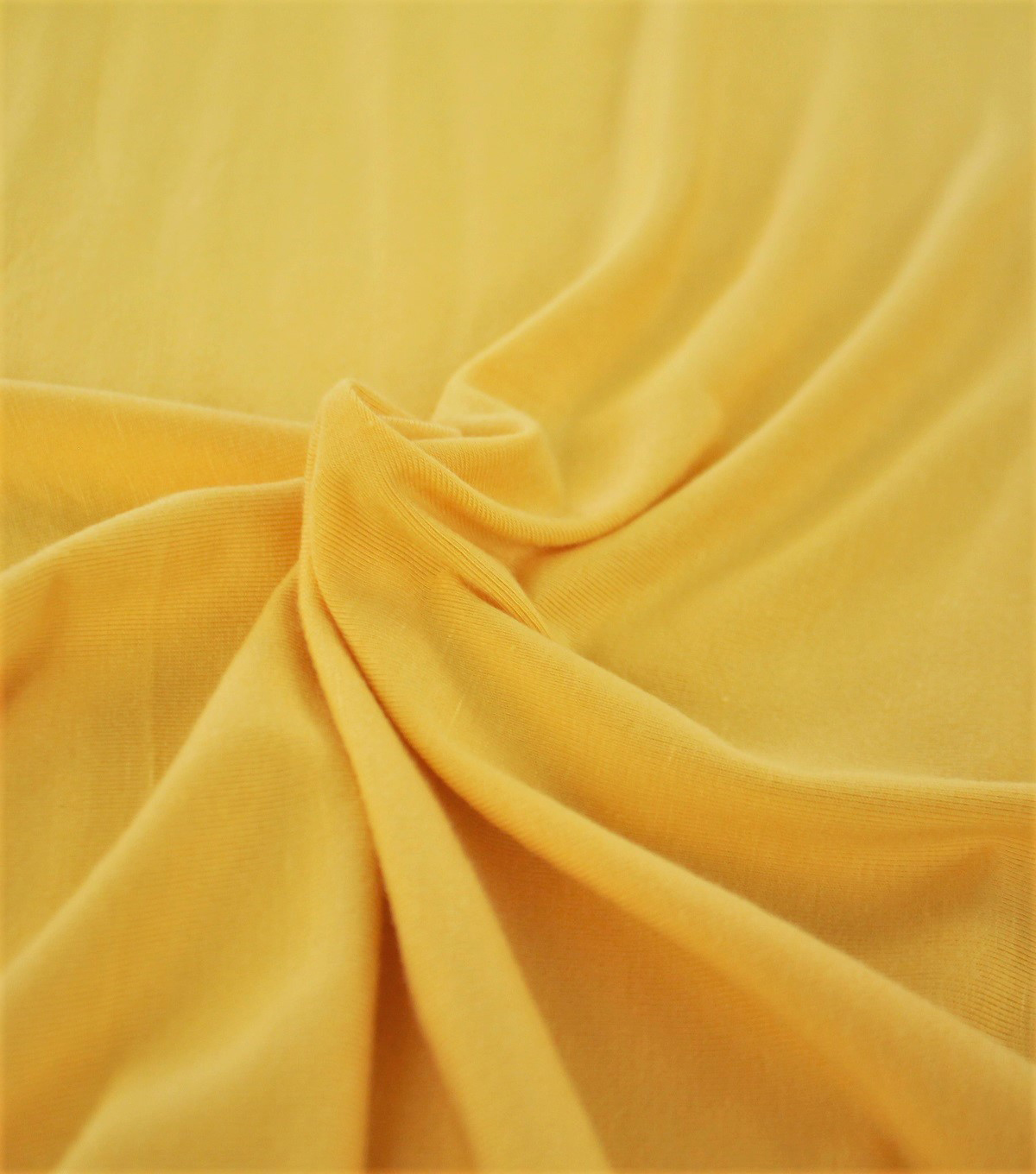 Rayon & Spandex Knit Fabric-Mimosa Solids