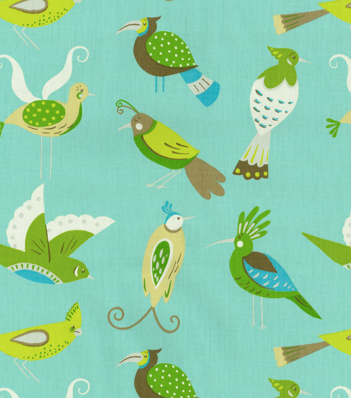 For The Birds/meadow Swatch