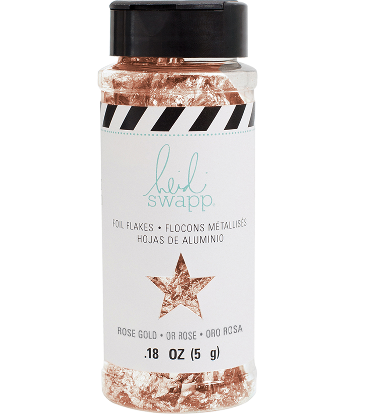Heidi Swapp 0.18 oz. Foil Flakes-Rose Gold