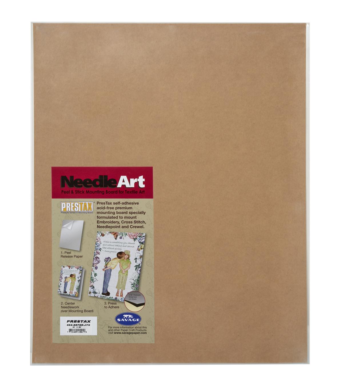 savage prestax 16 x20 needle art peel stick mounting board joann