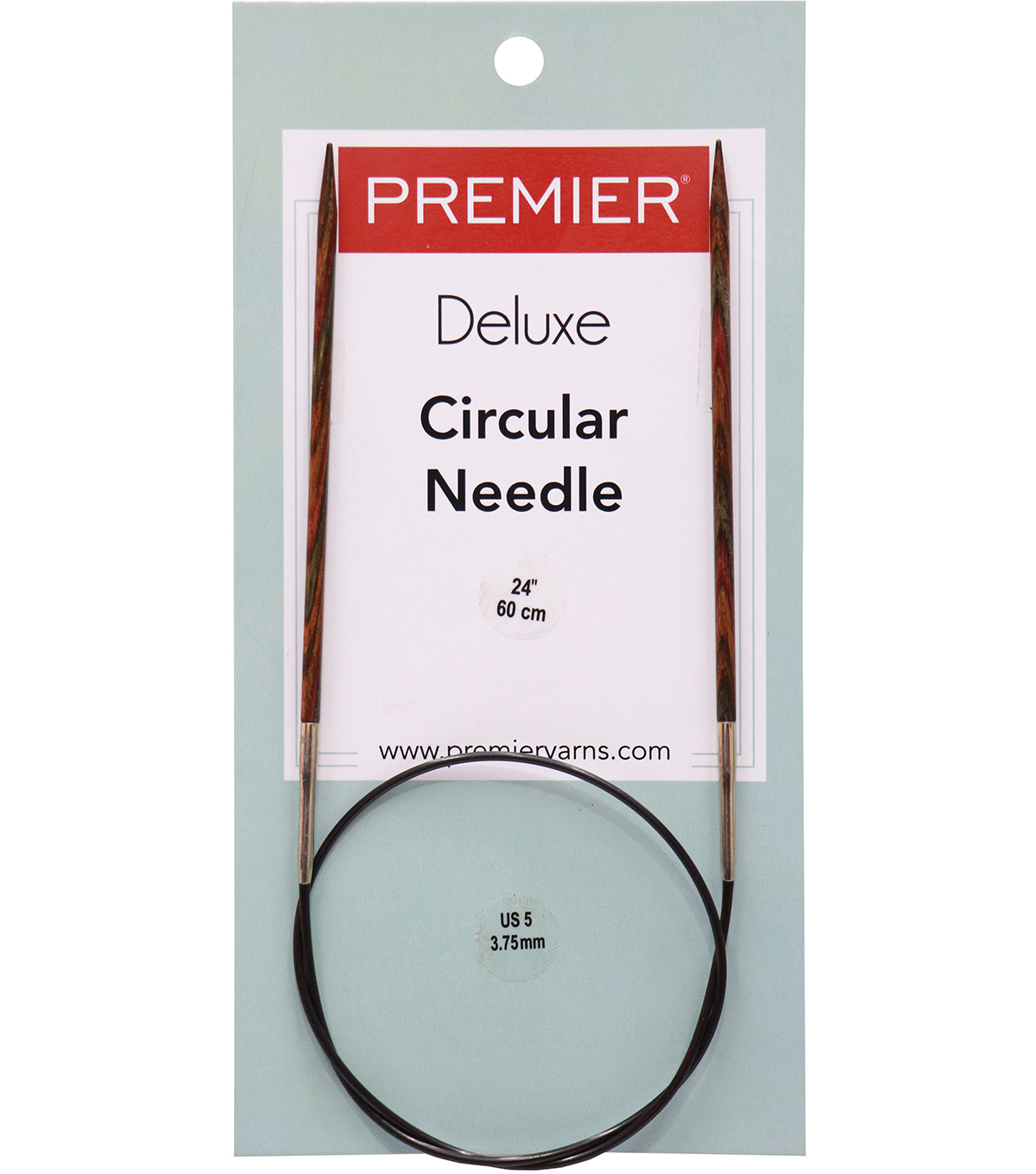 Premier Yarns Fixed Circular Needles 24\u0022 Size 5/3.75mm