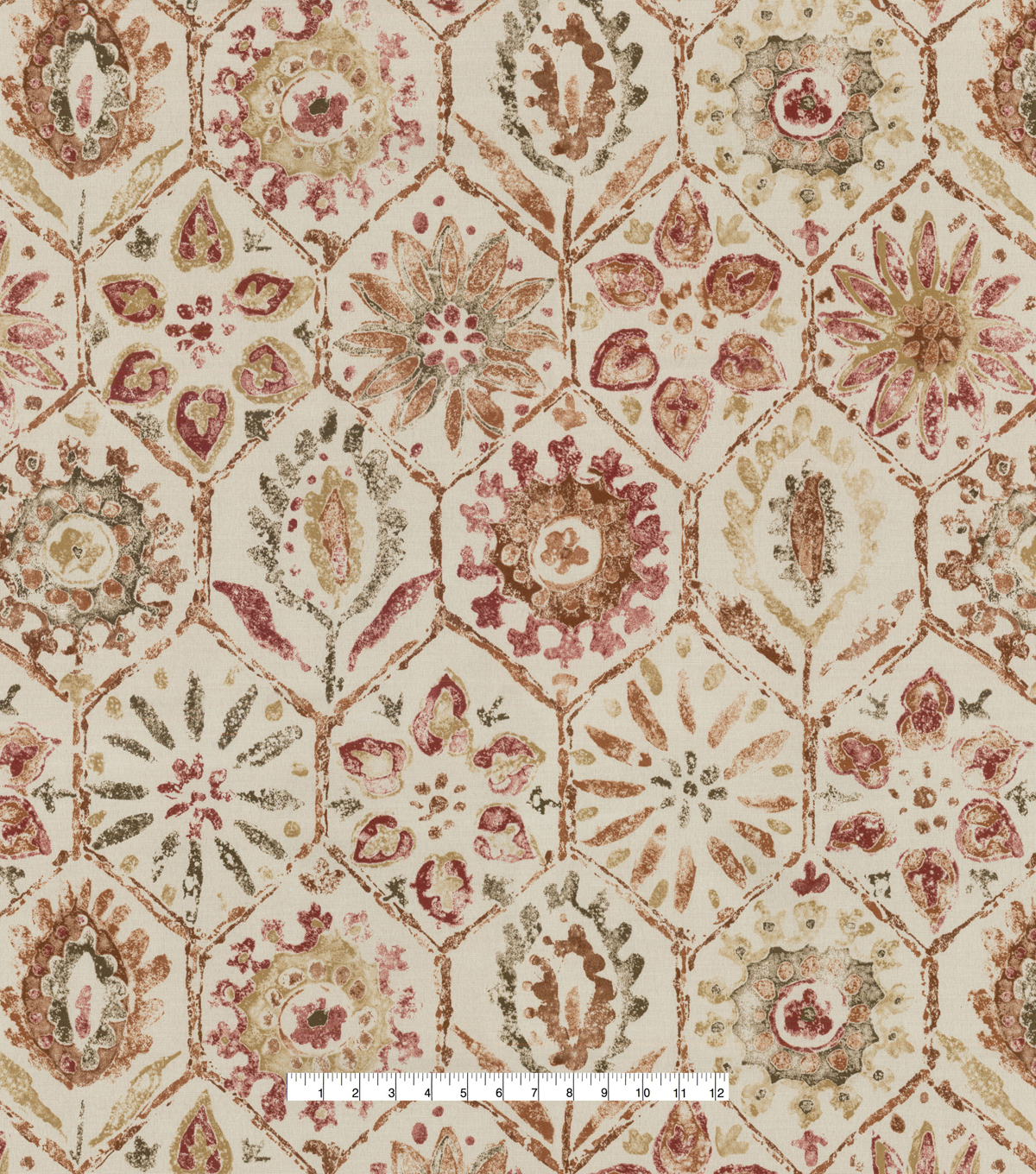 PKL Studio Outdoor Fabric-Antique Stone Persimmon