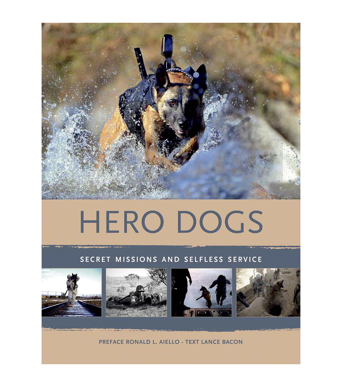 Lance M. Bacon Hero Dogs Book