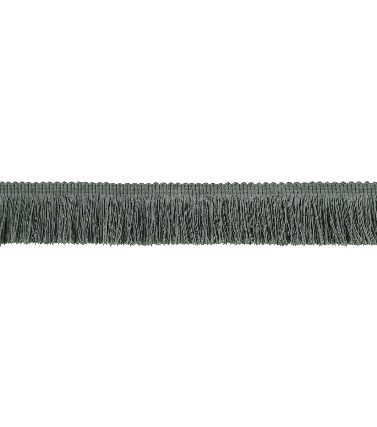 Signature Series Trim-Brush Fringe Grey
