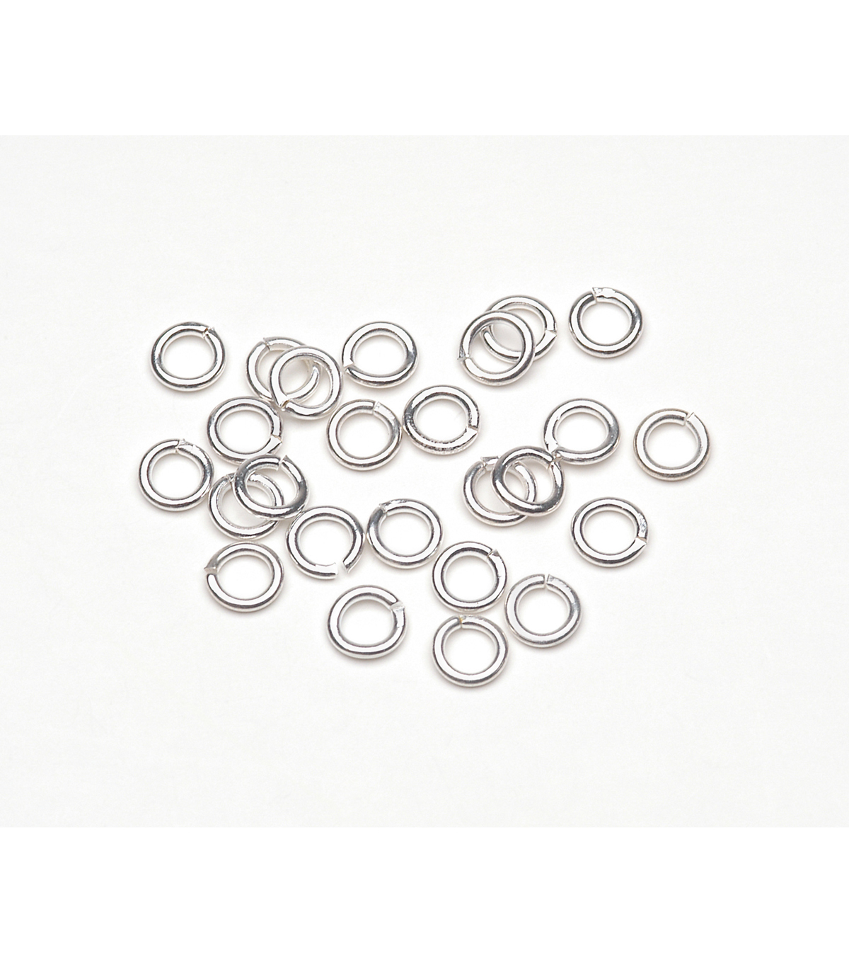 4Mm Jump Ring Silver