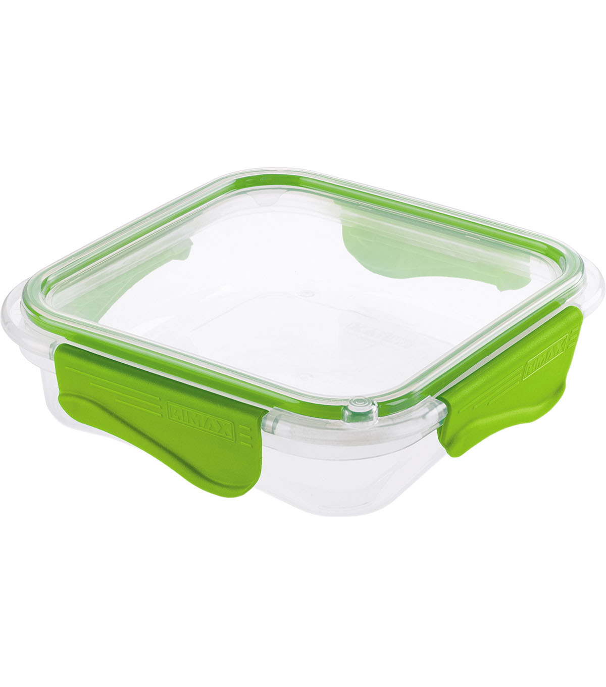 Rimax 17 oz. Food Storage Containe-Clear & Lime
