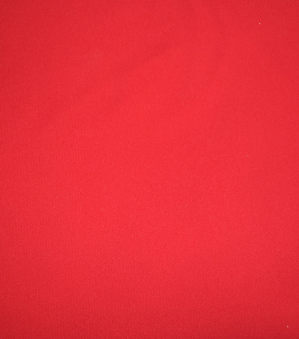 Casa Dahlia Slub Georgette Fabric-Solids, Tango Red
