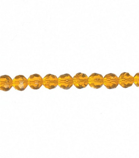 Darice 6mm Round Celestial Beads-7\u0022/Gold