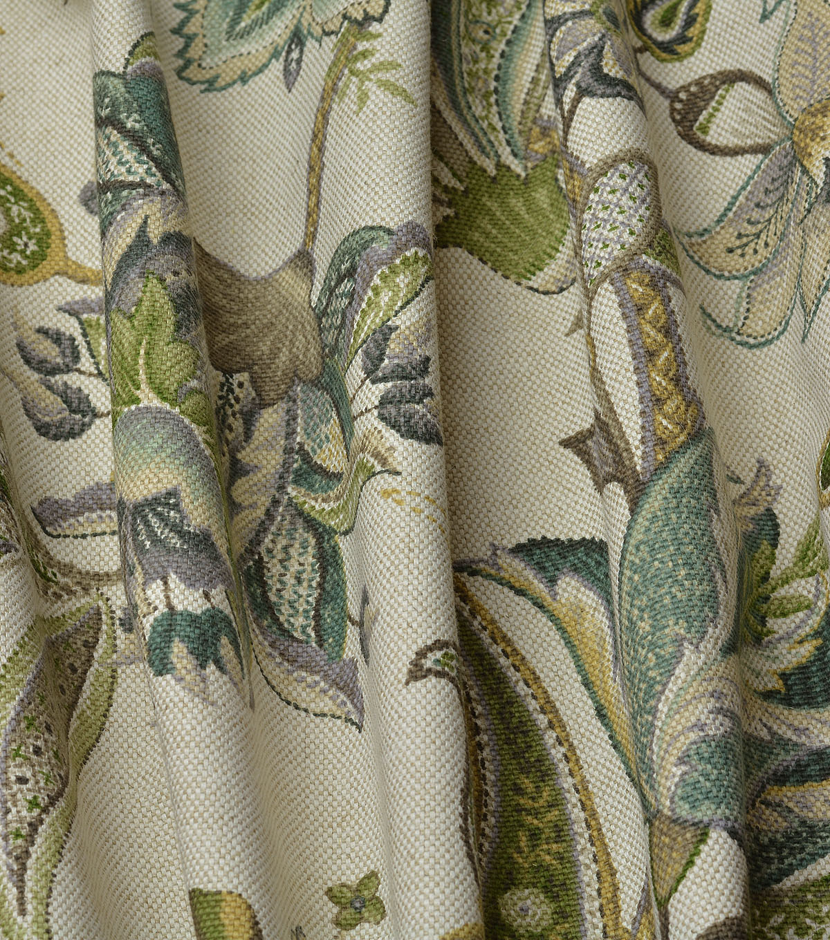P/Kaufmann Multi-Purpose Fabric-Garden Flora Haze