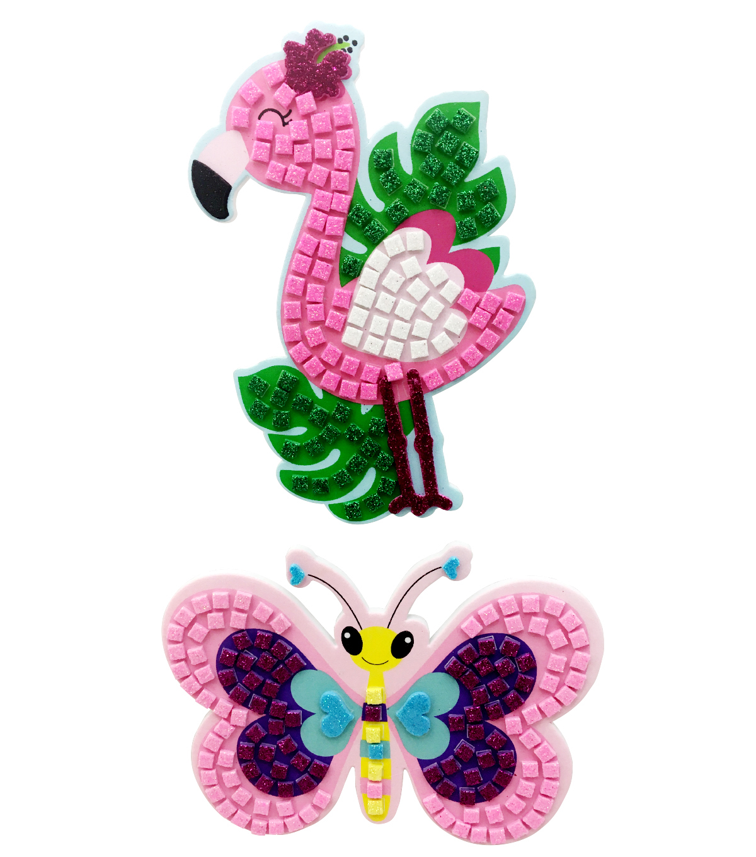 16 Butterfly Glitter faom stickers