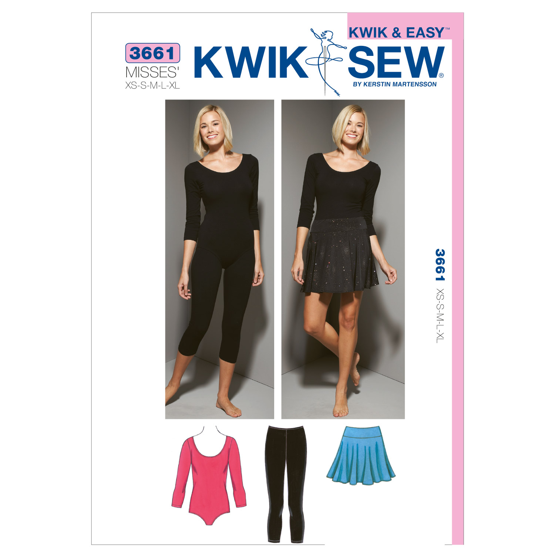 Leotard, Leggings & Skirt-XS-S-M-L-XL Pattern | JOANN