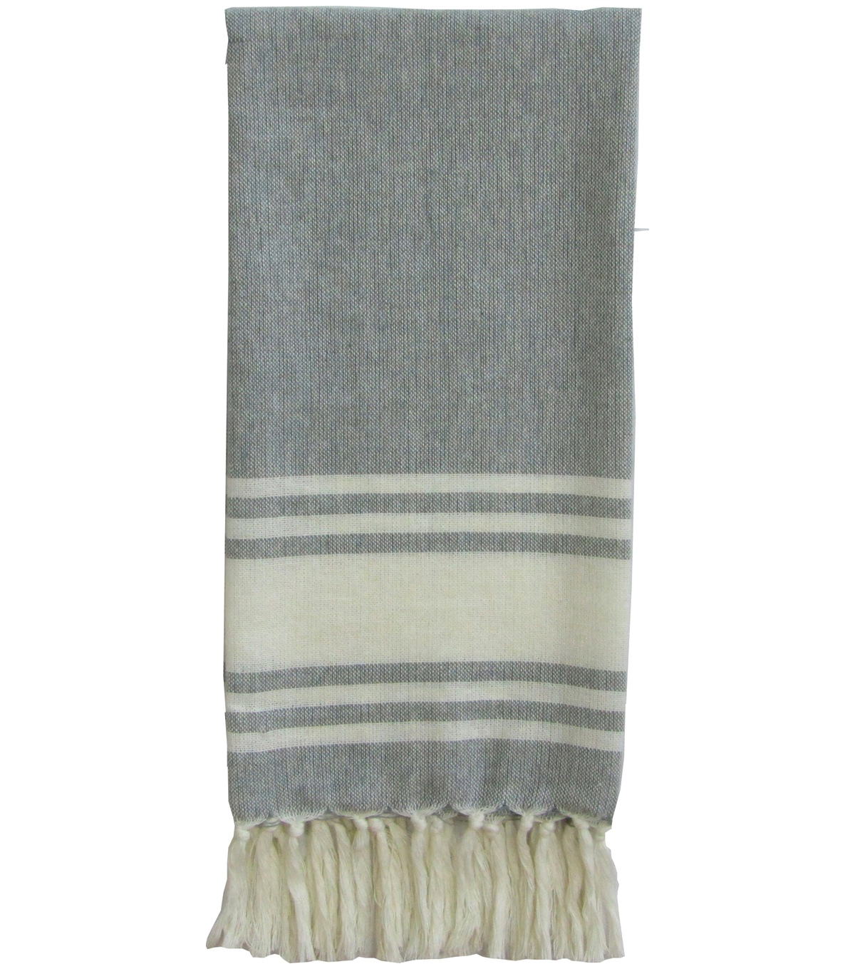 Hudson 43 Rustic 17\u0027\u0027x16\u0027\u0027 Towel-Blue Wide Stripes