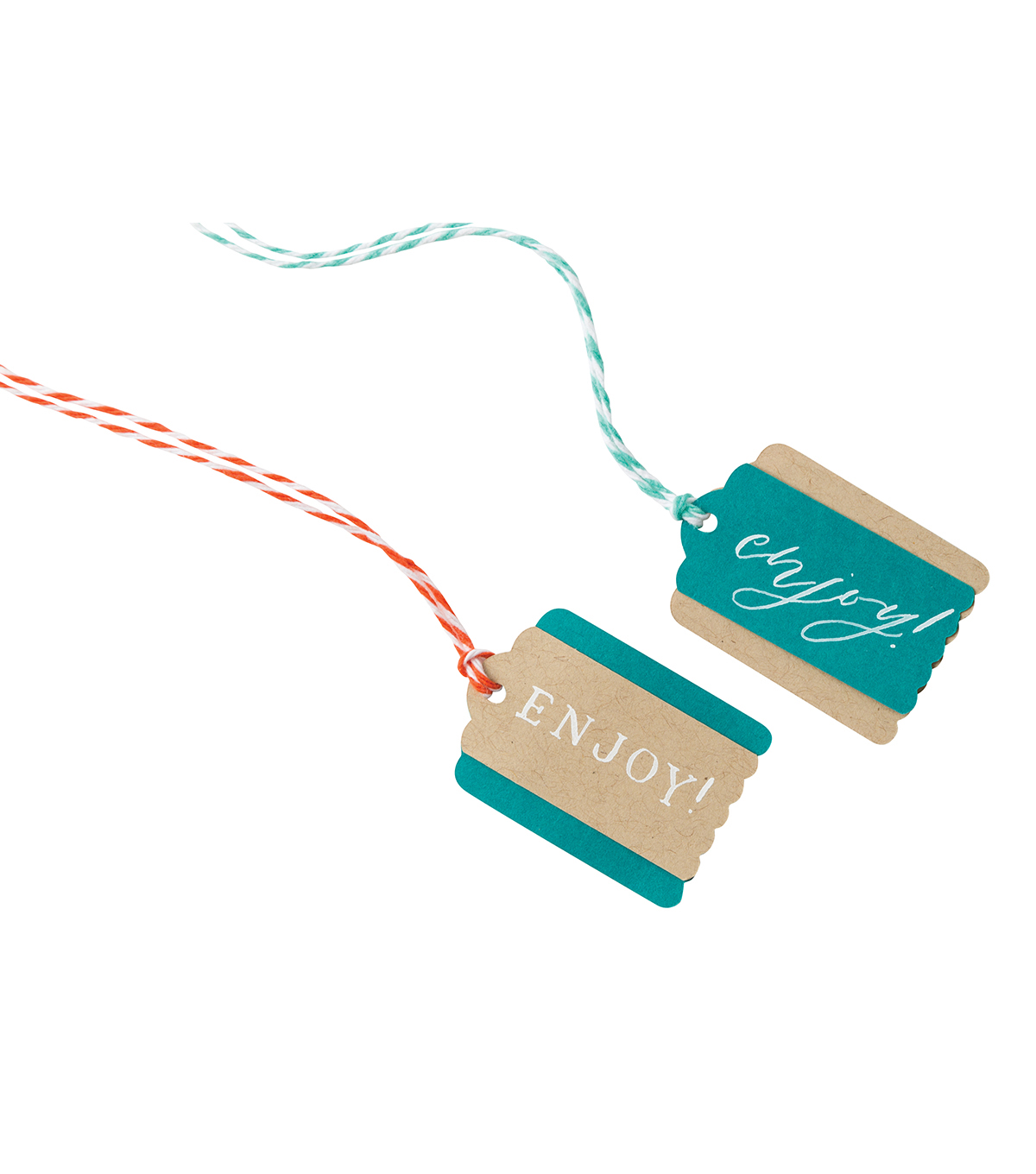Lia Griffith Gift Tag Maker II-Scallop