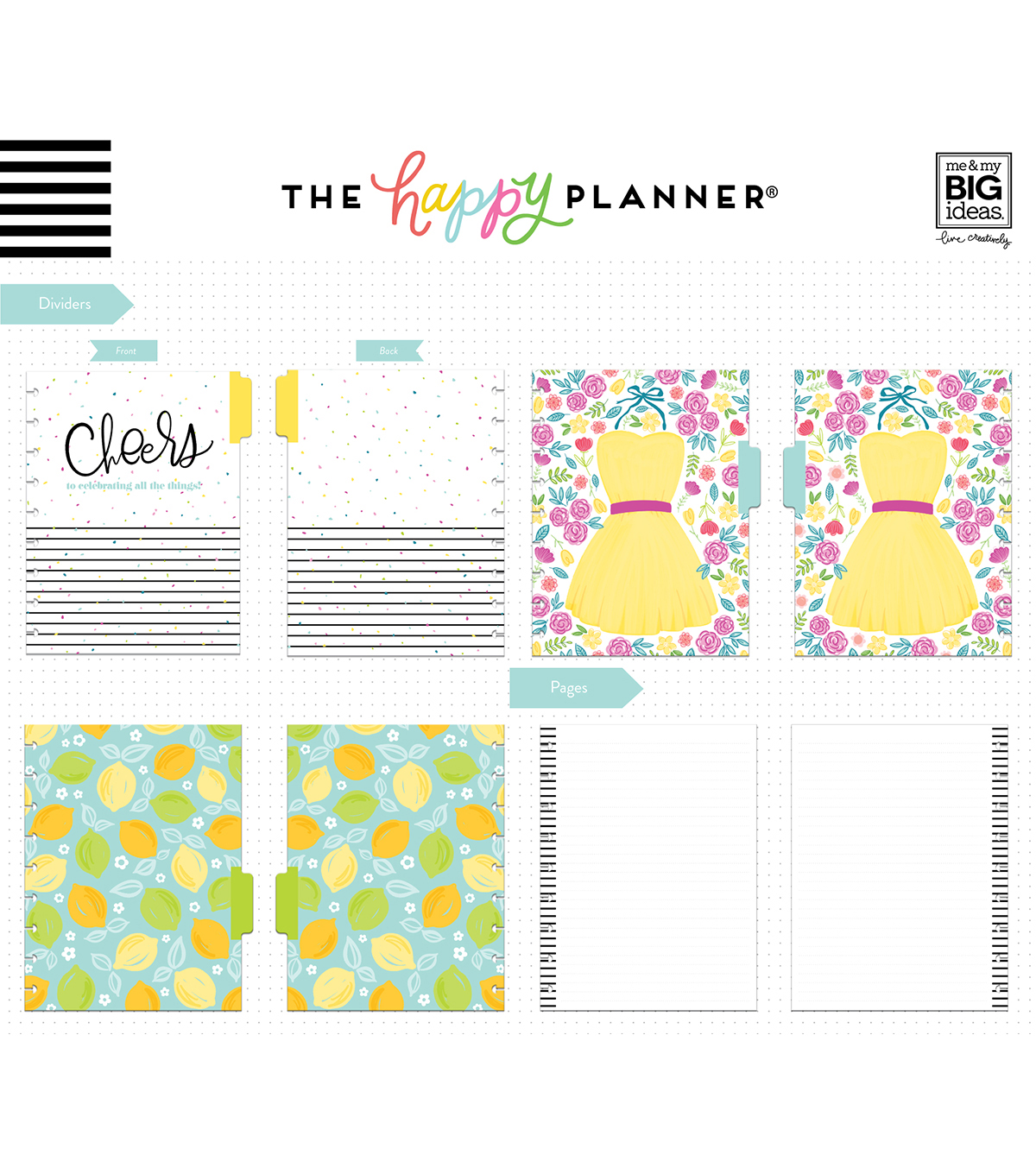 The Happy Planner Girl Classic Happy Notes Notebook-Happy Hostess