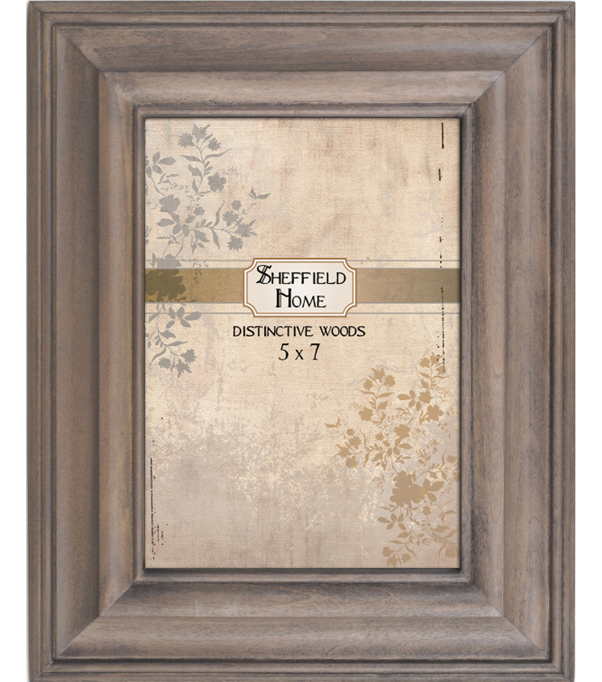 Distressed Frame 5x7-Gray