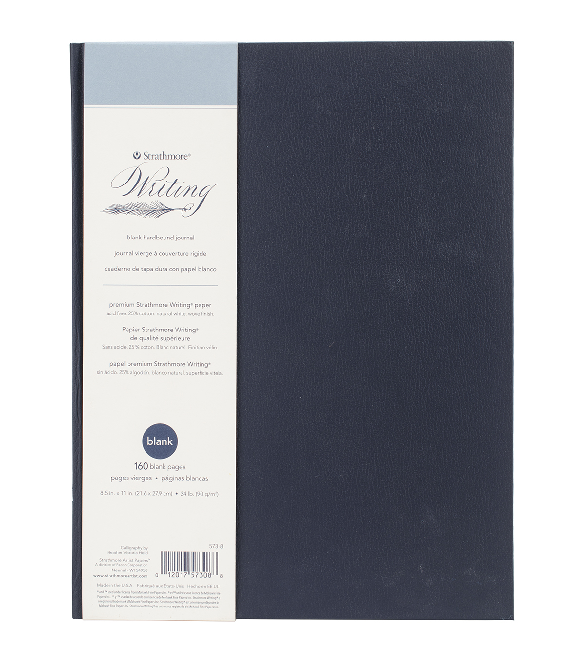 Strathmore 160pcs 8.5\u0022x11\u0022 Hardcover Blank Journal