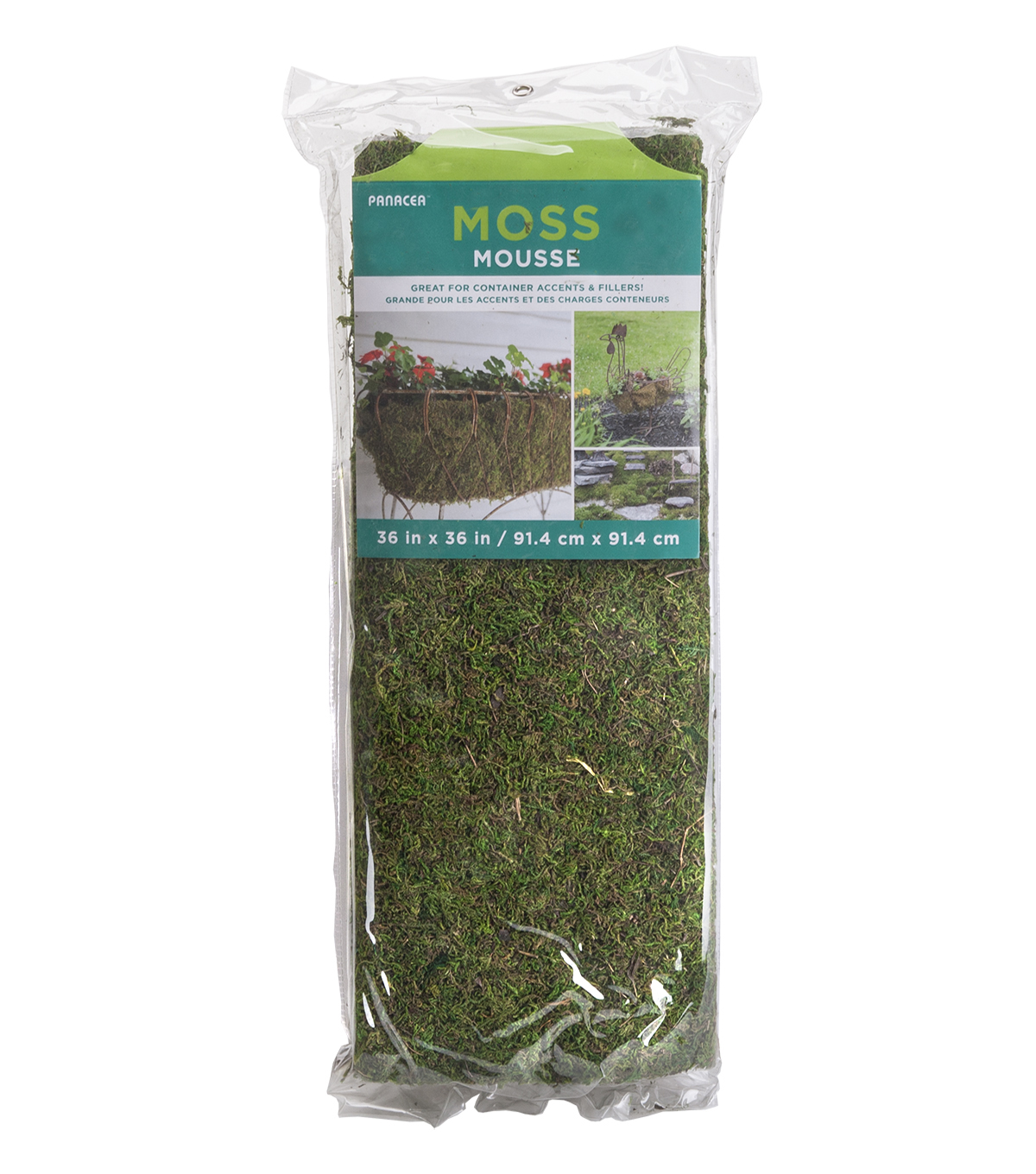 In the Garden 36\u0027\u0027x36\u0027\u0027 Moss Roll Sheet