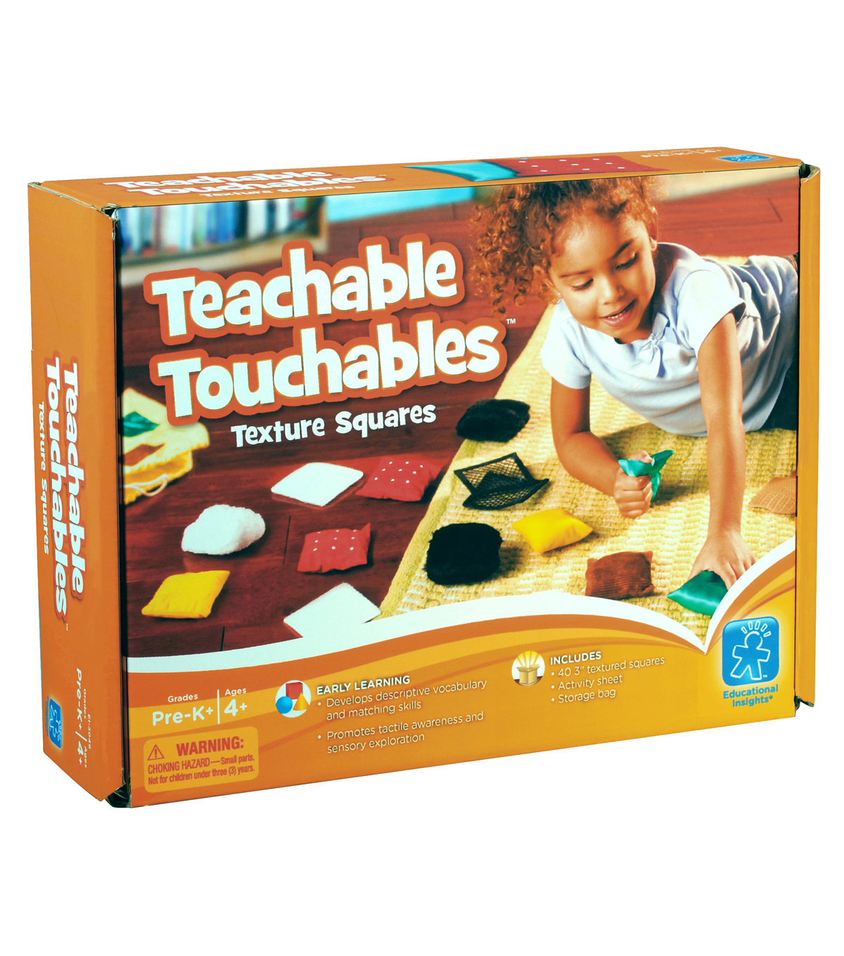 Teachable Touchables Texture Squares, 10/pkg