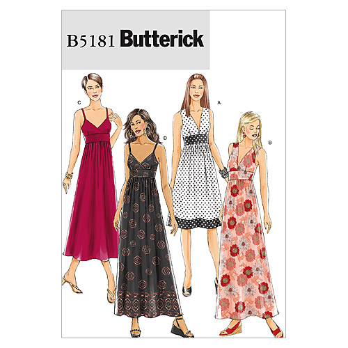 Butterick Misses Dress-B5181