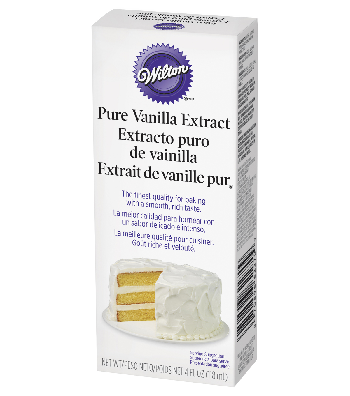 Wilton Pure Vanilla Extract-4oz.