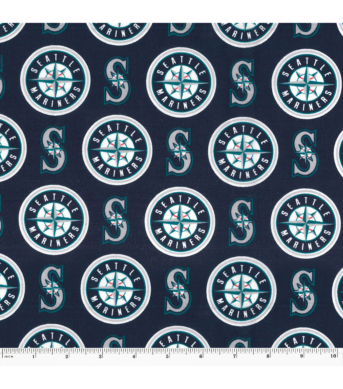 Seattle Mariners MLB Cotton Fabric | JOANN