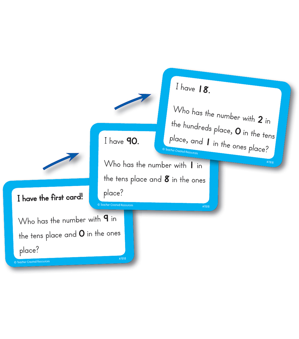 Teacher Created Resources I Have, Who Has Math Game, Grade 2-3