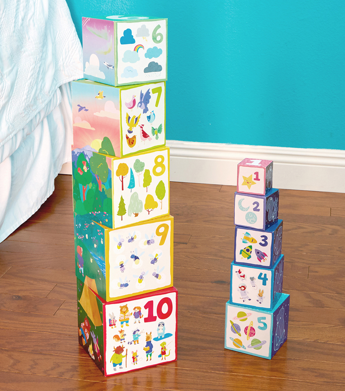 Bright Basics Nest & Stack Cubes