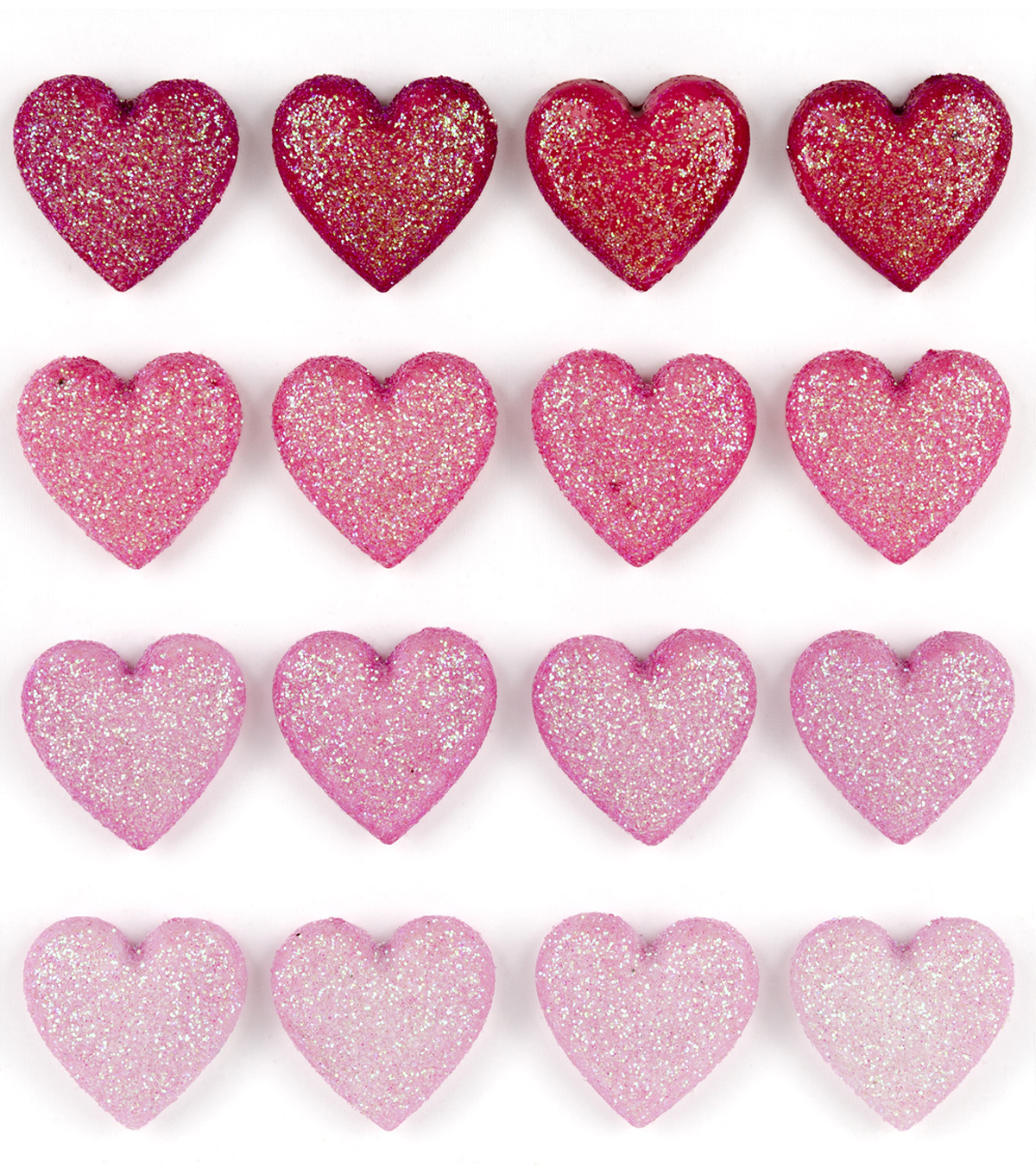 Jolee's Boutique Repeat Stickers-Glitter Heart
