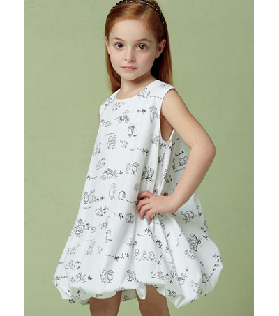 Vogue Pattern V9261 Children\u0027s/Girls\u0027 Tunic & Dress-Size 2-3-4-5