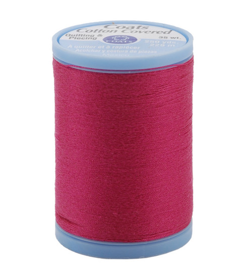 Coats & Clark Cotton Covered Quilting & Piecing Thread 250 Yards , 3040 Red Rose