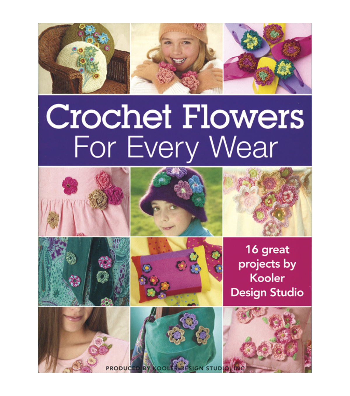 Crocheted Flowers For Every Wear