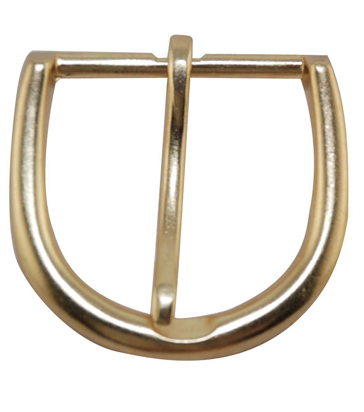 Large Round Buckle-Gold