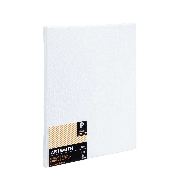 9x12 canvas panels 3 pack joann