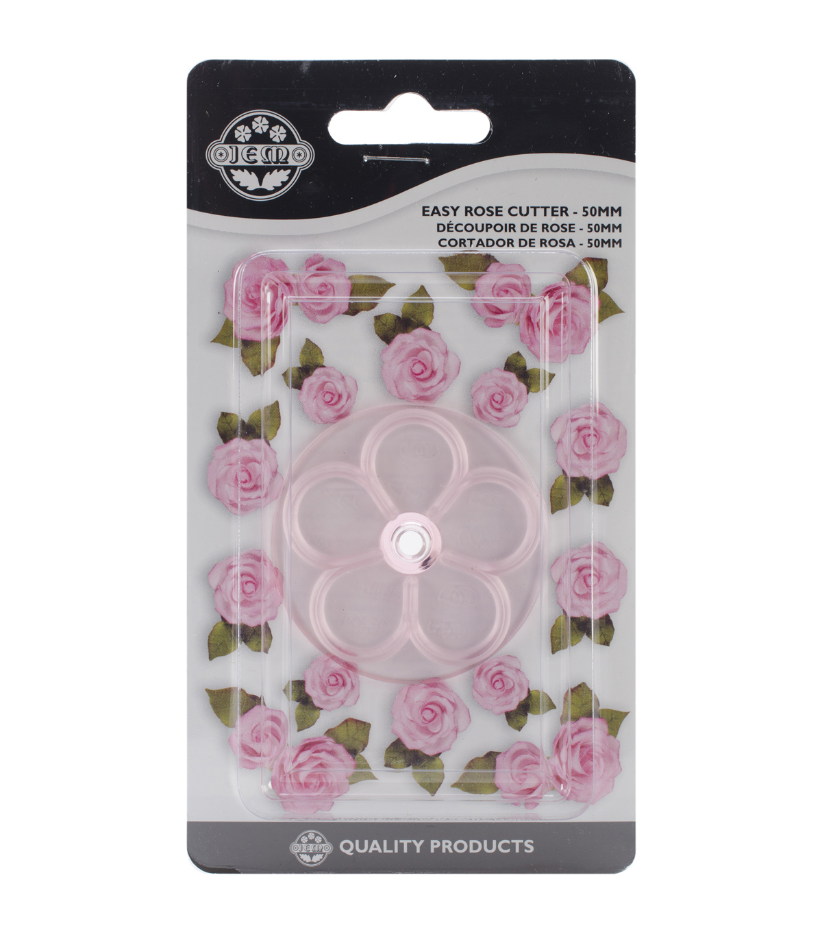 JEM Plastic Easy Rose Cutter 50mm